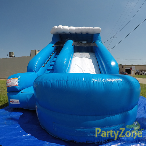 13ft Lil Surf Water Slide Front View