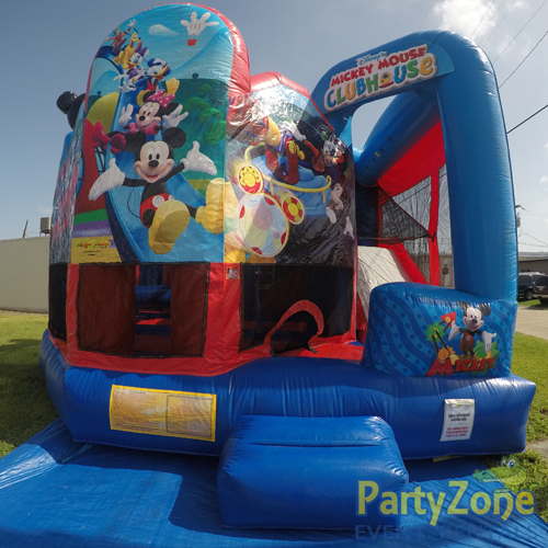 Mickey Mouse Clubhouse 5n1 Combo Bounce House Rental Front View