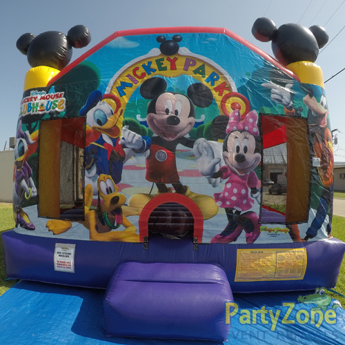 Mickey Mouse Clubhouse Bounce House Rental Front View