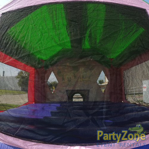 Minnies Bow-Tique Bounce House Rental Inside View
