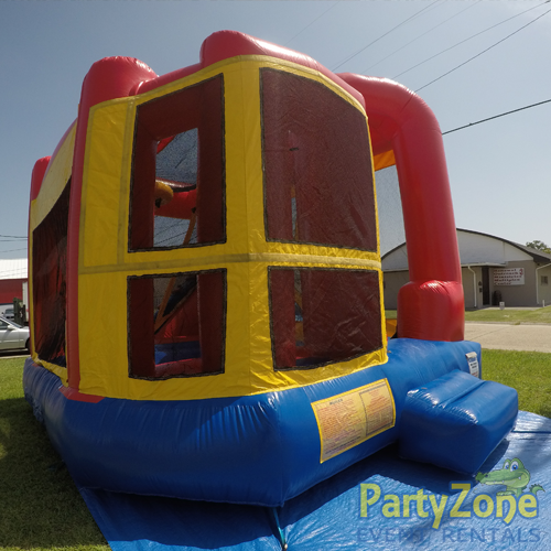 Add a Theme 4n1 Combo Bounce House Rental Front Left View