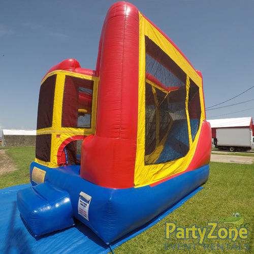 Add a Theme 4n1 Combo Bounce House Rental Front Right View