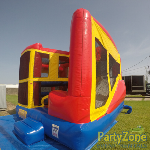 Modular 5n1 Combo Bounce House Rental Front Right View