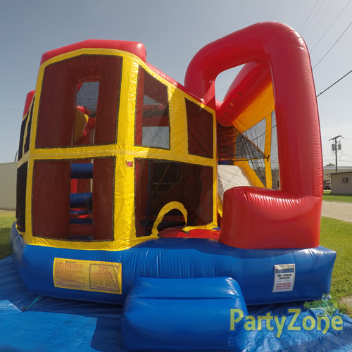 Modular 5n1 Combo Bounce House Rental Front View