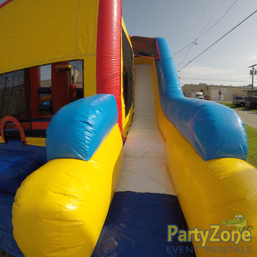 Modular 7n1 Combo Bounce House Rental Slide View