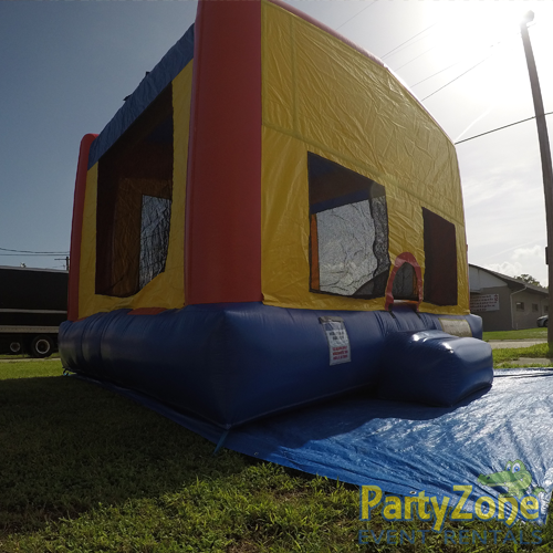 Modular Bounce House Rental Front Left View