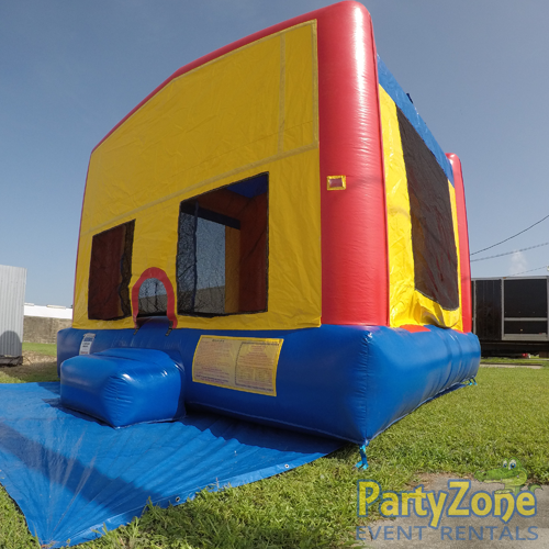 Modular Bounce House Rental Front Right View