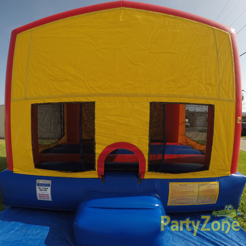 Modular Bounce House Rental Front View