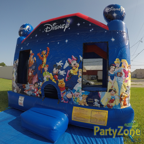 World of Disney Bounce House Rental Front Right View
