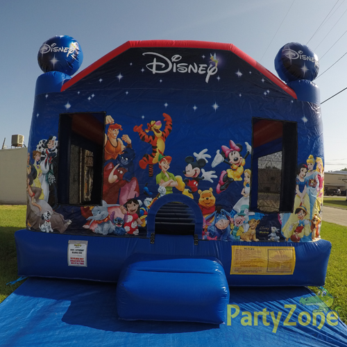 World of Disney Bounce House Rental Front View