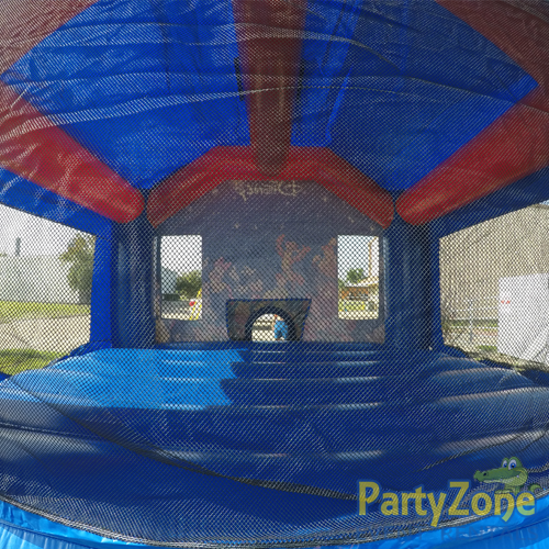 World of Disney Bounce House Rental Inside View