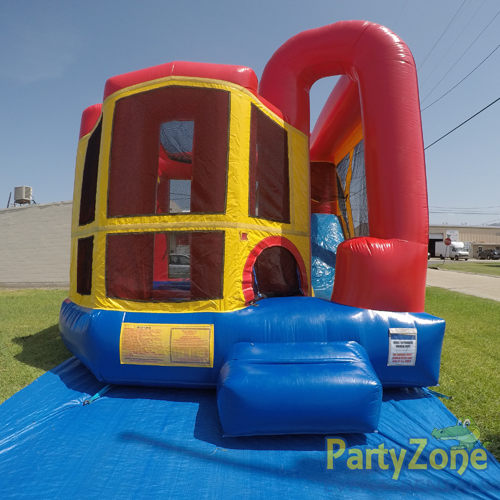 Add a Theme 4n1 Combo Bounce House Rental Front View