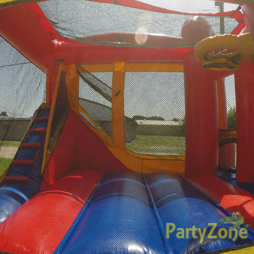 Add a Theme 4n1 Combo Bounce House Rental Inside Side View