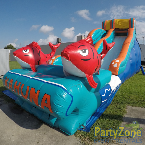 17ft Big Kahuna Water Slide Front Right View