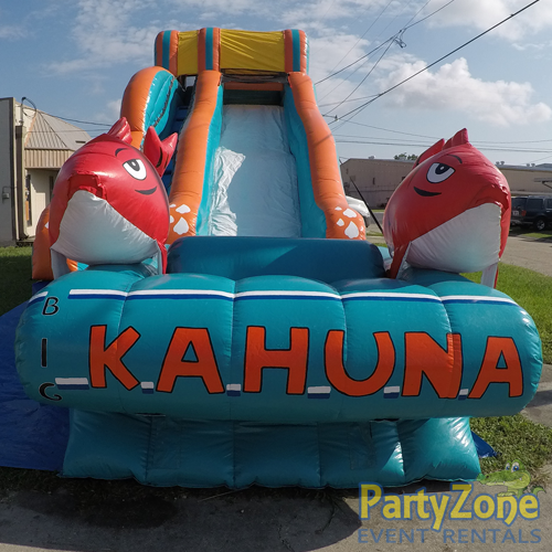 17ft Big Kahuna Water Slide Front View