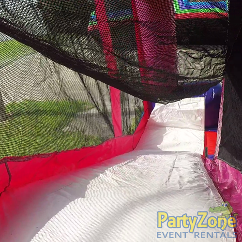 Disney Princess 5n1 Combo Bounce House Rental Inside Slide View