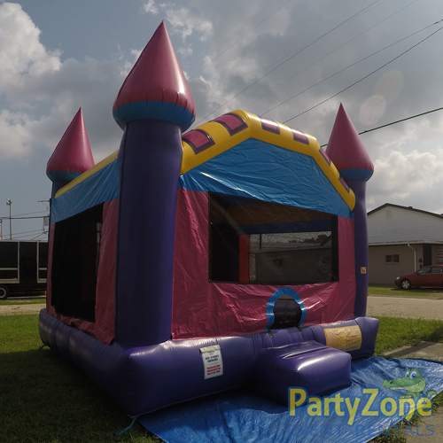 Dream Castle Bounce House Front Left View
