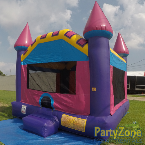 Dream Castle Bounce House Front Right View
