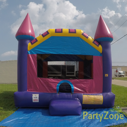 Dream Castle Bounce House Front View