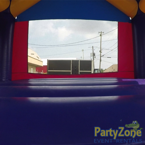 Dream Castle Bounce House Inside Entrance View