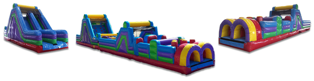Inflatable Obstacle Course Rentals New Orleans