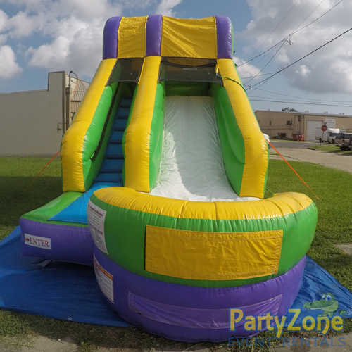 15ft Mambo Splash Water Slide Front View