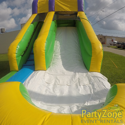 15ft Mambo Splash Water Slide Splash Landing View
