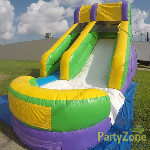 15ft Mambo Splash Water Slide Front Right View