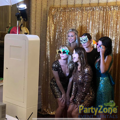 Photo-Booth-in-Action-Diamond-Package-PartyZone-Event-Rentals