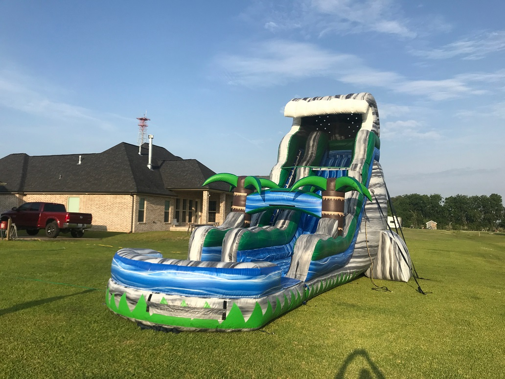 inflatable waterslide rentals
