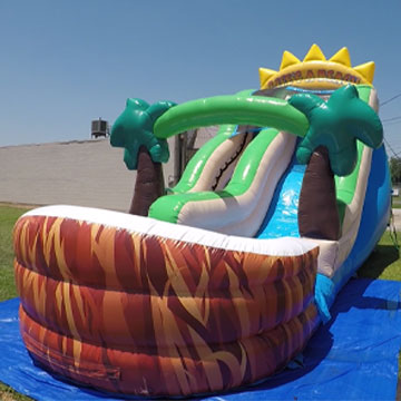 inflatable water slide new orleans