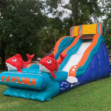inflatable water slide rental in new orleans
