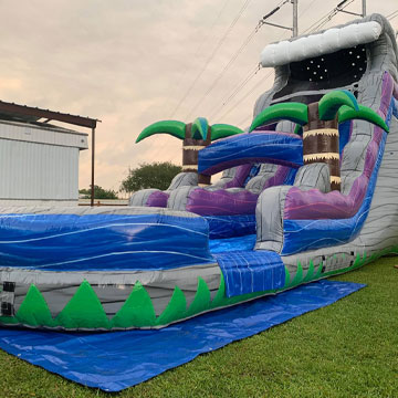 inflatable water slides new orleans area