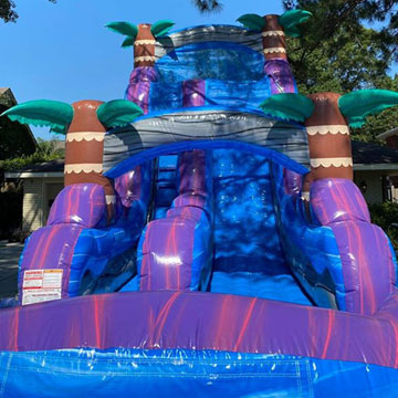 inflatable water slides new orleans