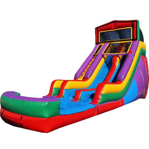 dual lane water slide rental