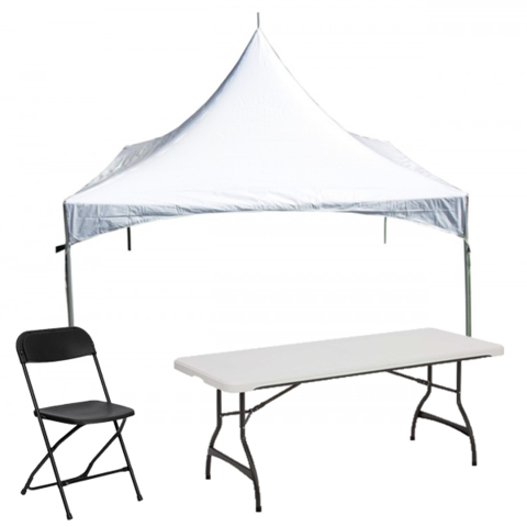 20x20 Tent Party Package