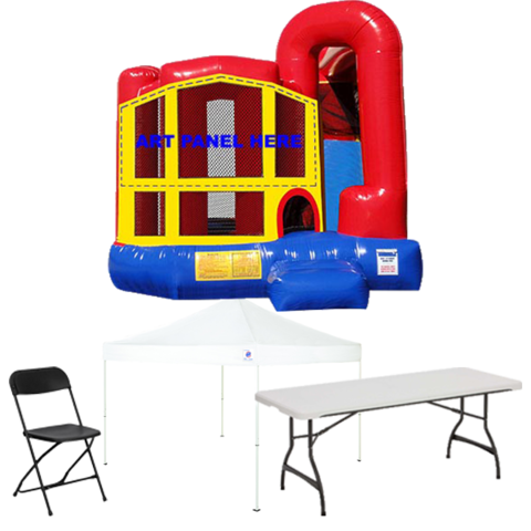 4n1 Combo Bouncer Backyard Party Package