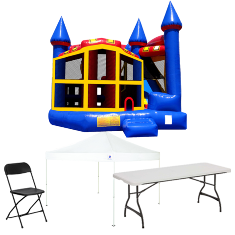 5n1 Combo Bouncer Backyard Party Package