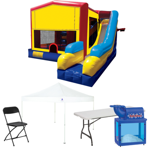 7n1 Combo Bouncer Backyard Ultimate Party Package