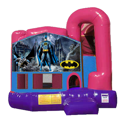 Batman Dream Backyard 4n1 Combo Bounce House