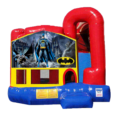 Batman Modular Backyard 4n1 Combo Bounce House