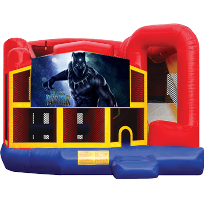 Black Panther Modular 5n1 Combo Bounce House