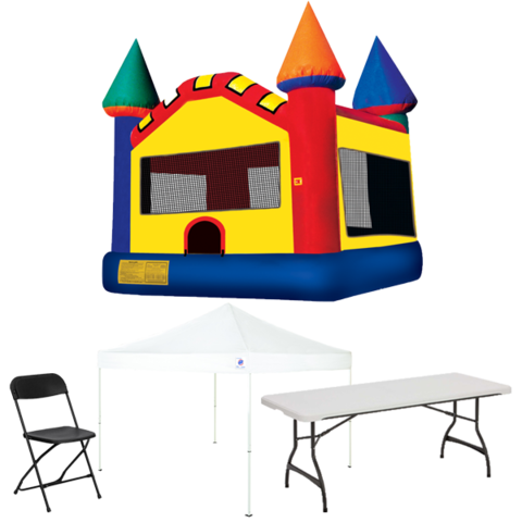 Bounce House Backyard Party Package
