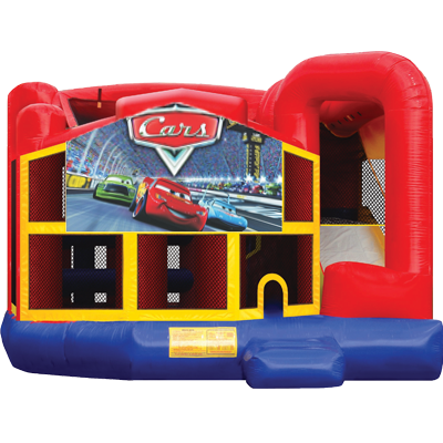 Cars Modular 5n1 Combo Bounce House