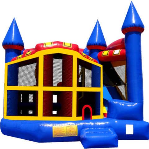 Castle 5n1 Combo Bounce House