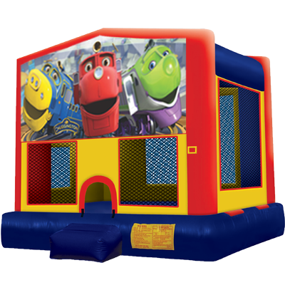 Chuggington Modular Bounce House | Inflatable Bouncer Rental