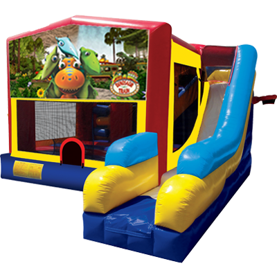 Dinosaur Train Modular 7n1 Combo Bounce House