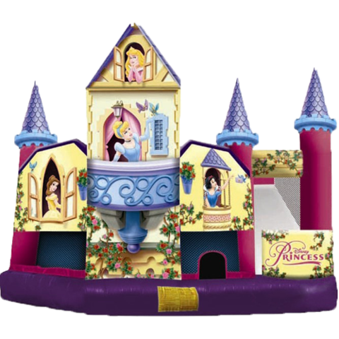 Disney Princess 5n1 Combo Bounce House