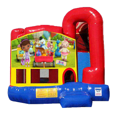 Doc McStuffins Modular Backyard 4n1 Combo Bounce House