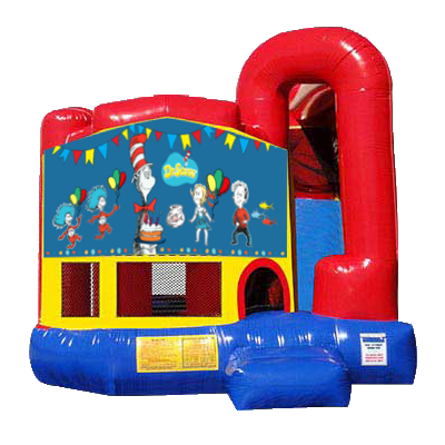 Dr. Suess Modular Backyard 4n1 Combo Bounce House